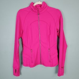Lululemon Hustle In Your Bustle Pink Jacket Size 8